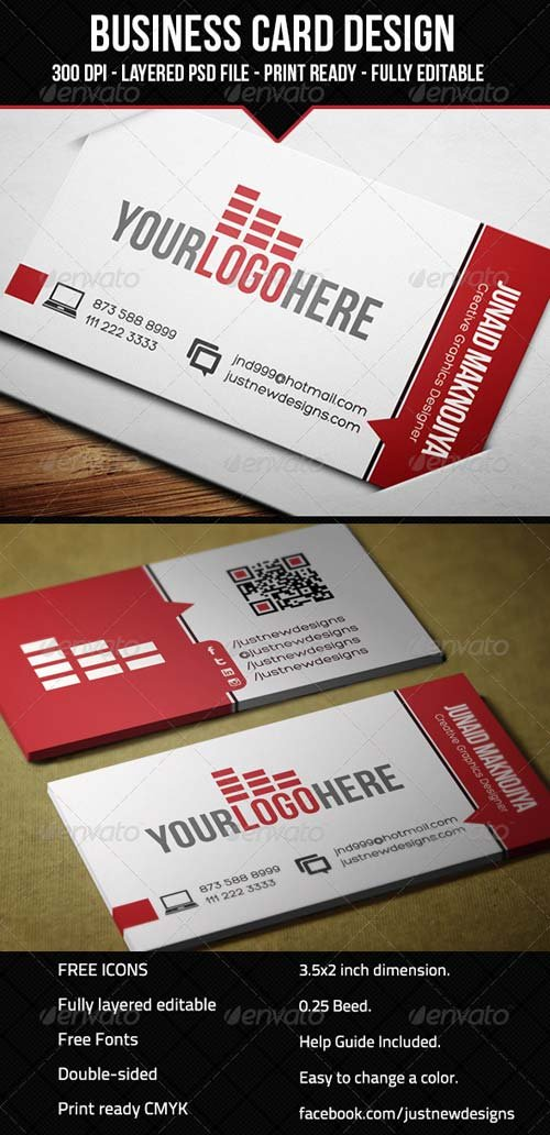GraphicRiver Corporate Business Card for Multipurpose 05