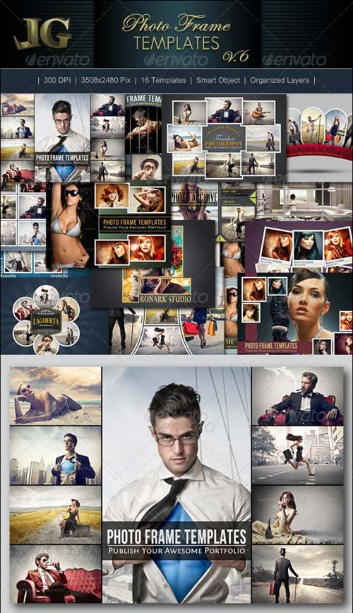 GraphicRiver Photo Frame Templates V6