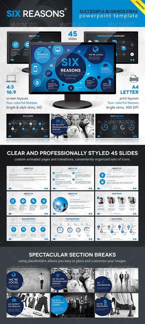 GraphicRiver Six Template