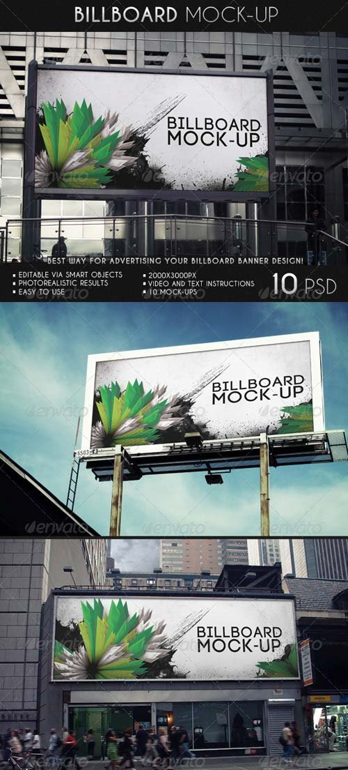 GraphicRiver Billboard Mock-Up