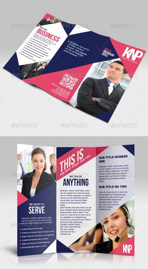 GraphicRiver KNP - Multipurpose Trifold Brochure