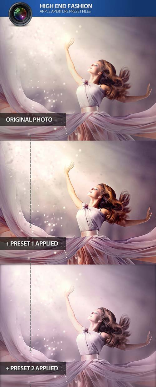 GraphicRiver High End Fashion Aperture Photo Presets