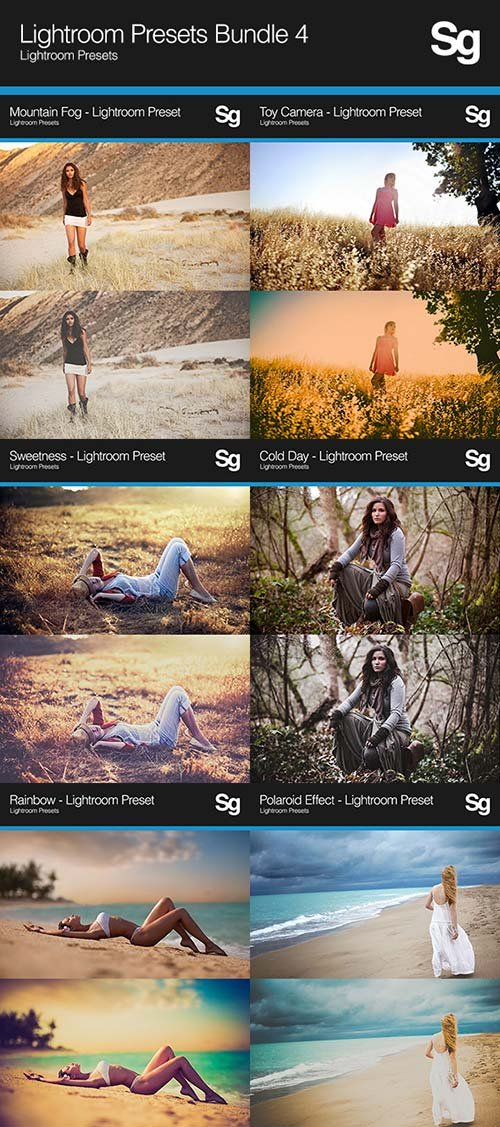 GraphicRiver Lightroom Presets Bundle 4