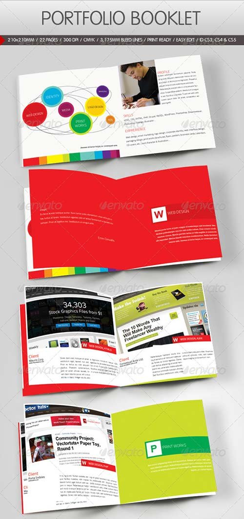 GraphicRiver Portfolio Booklet