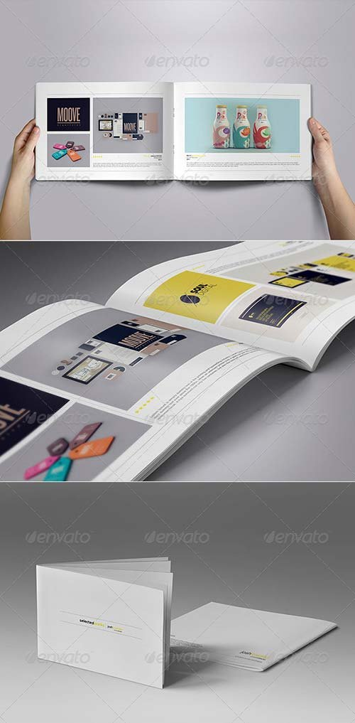 GraphicRiver Minimal Portfolio Vol. 01