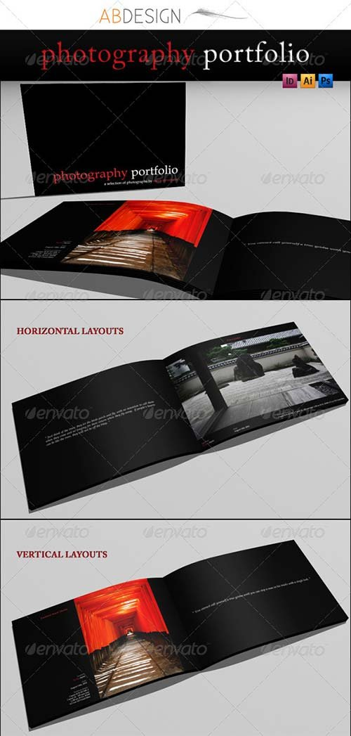 GraphicRiver A4 Photography Portfolio