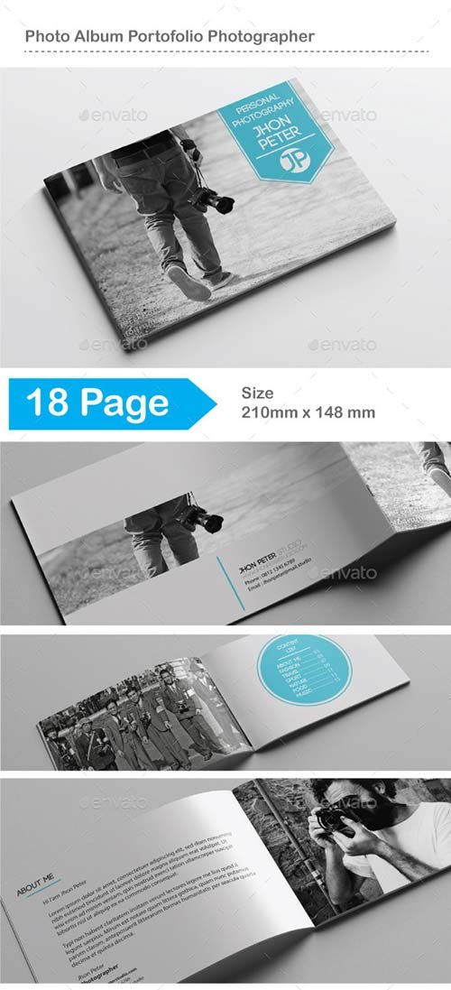 GraphicRiver Photo Album Portofolio Photographer