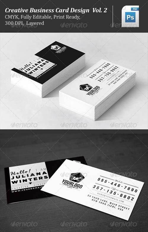 GraphicRiver Creative Business Card Design Vol.2