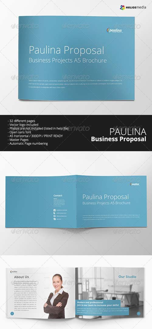 GraphicRiver Paulina Business Proposal Brochure