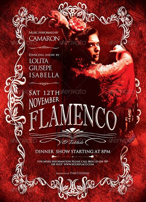 GraphicRiver Flamenco Flyer Template V2