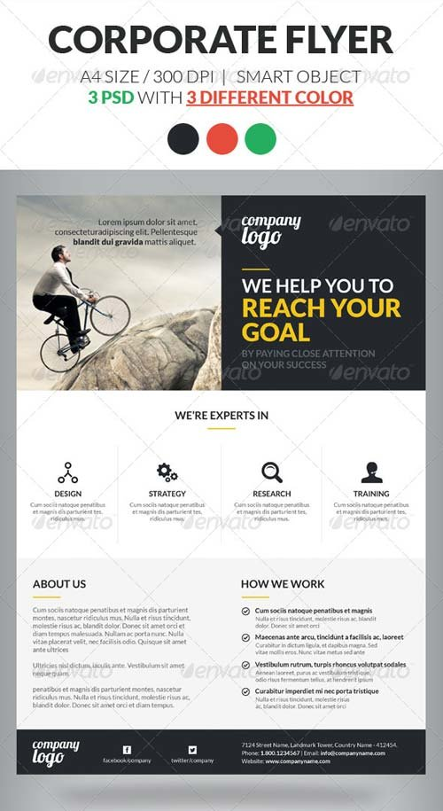 GraphicRiver Corporate Flyer Template Vol 2