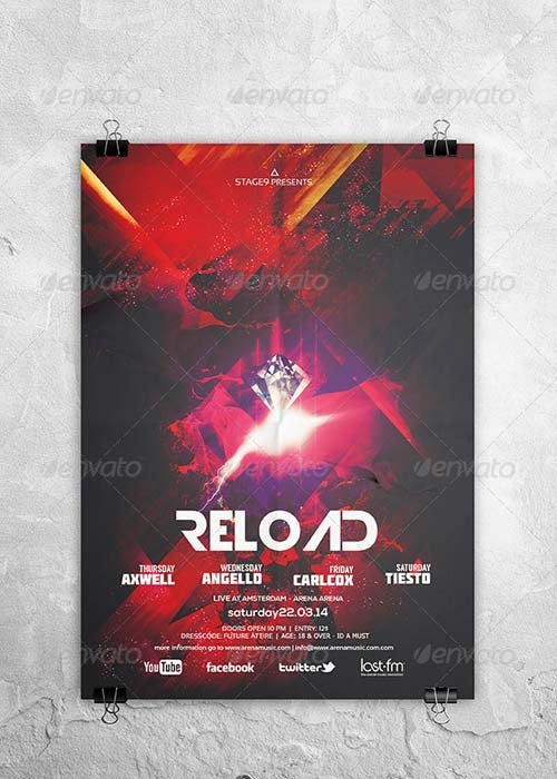 GraphicRiver Reload Flyer / Poster
