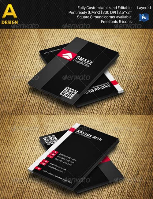 GraphicRiver Corporate Business Card AN0244