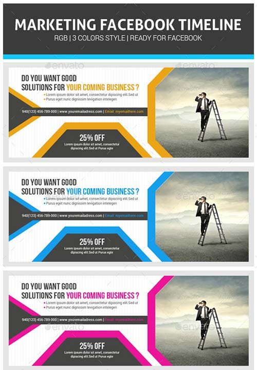GraphicRiver Corporate Business Facebook Timeline Psd