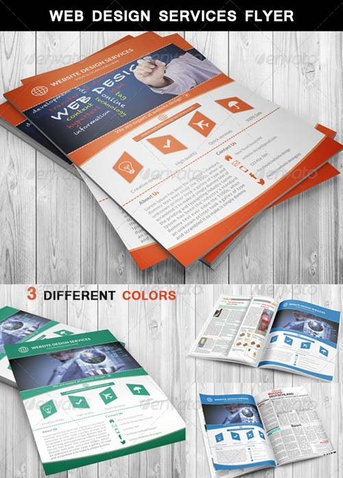 GraphicRiver Web Design Services Flyer
