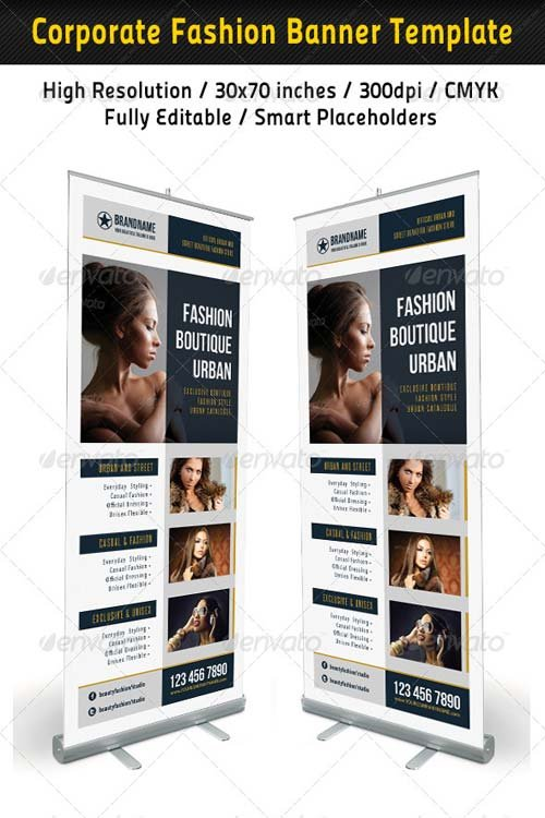 GraphicRiver Fashion Multipurpose Banner Template 32