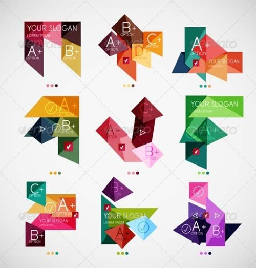 GraphicRiver Set of Modern Business Infographic Templates