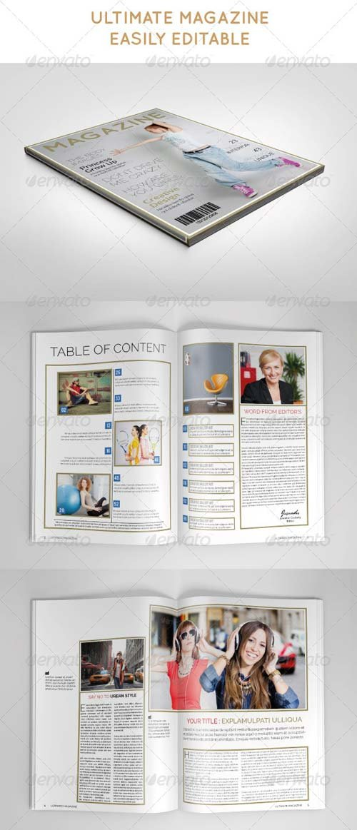 GraphicRiver Ultimate Magazine Template