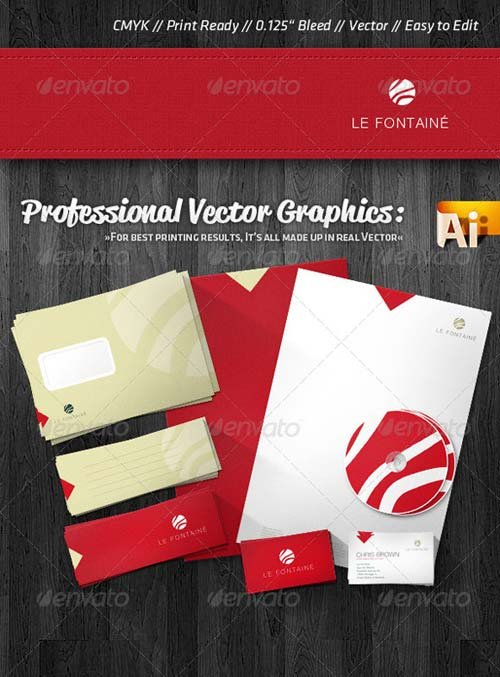 GraphicRiver Professional Wellness Corporate Identity Package