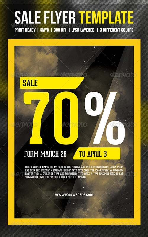 GraphicRiver Sale Flyer Template