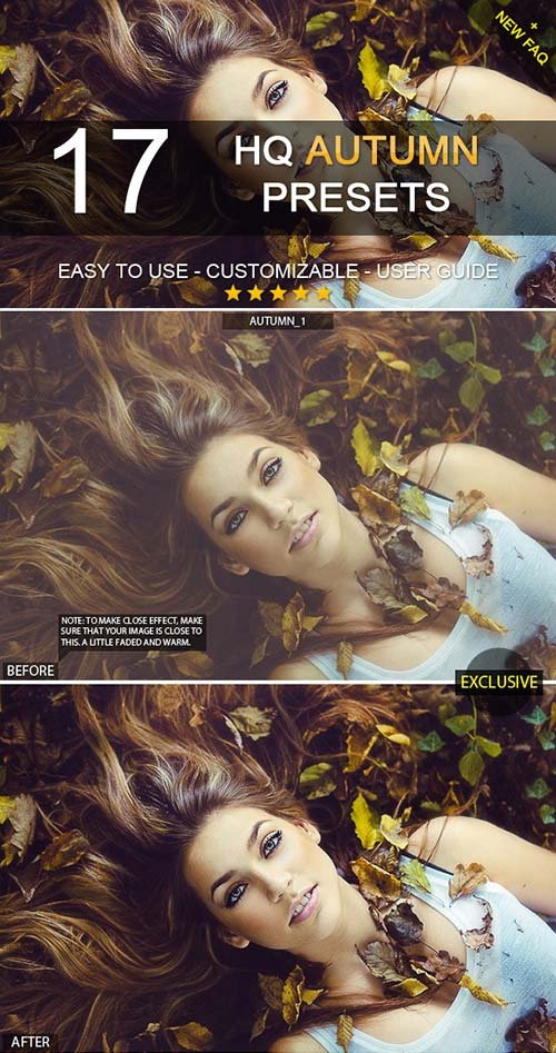 GraphicRiver 17 HQ Autumn Presets