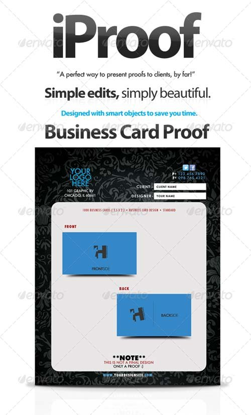 GraphicRiver iProof - Client Proof Kit, Great for Freelance!