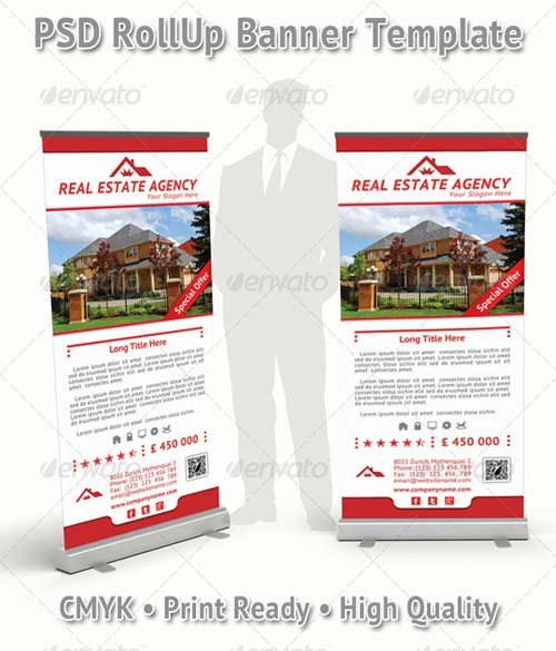 GraphicRiver Real Estate Agency Rollup Banner 15