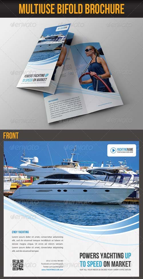 GraphicRiver Multiuse Bifold Brochure 47