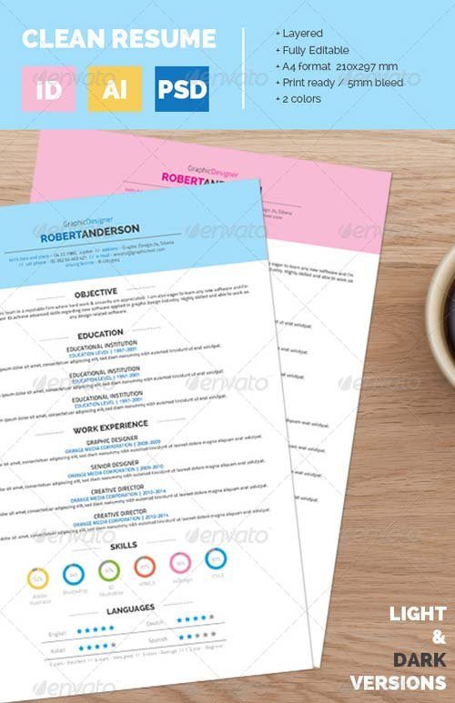 GraphicRiver Resume CV