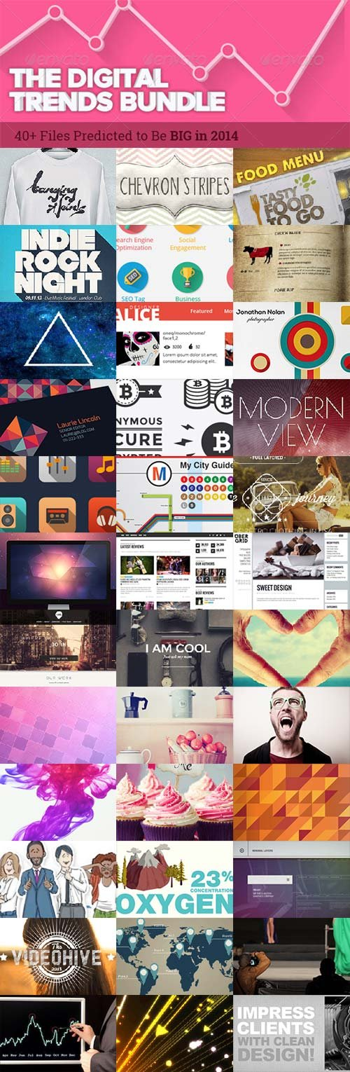 Envato The Digital Trends Bundle 2014