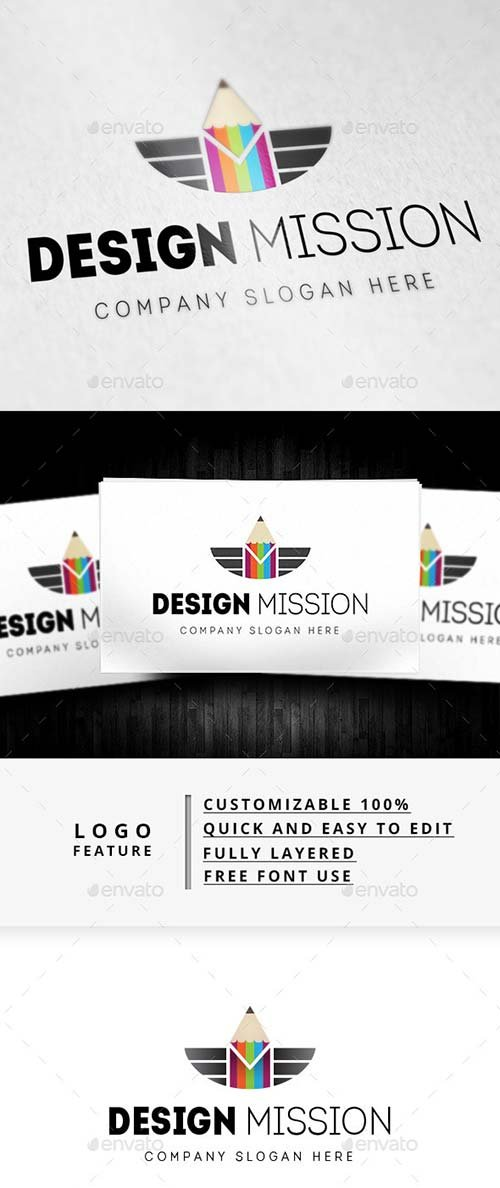 GraphicRiver Design Mission Logo