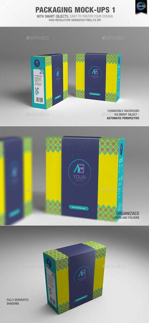 GraphicRiver Packaging Mock-ups 1