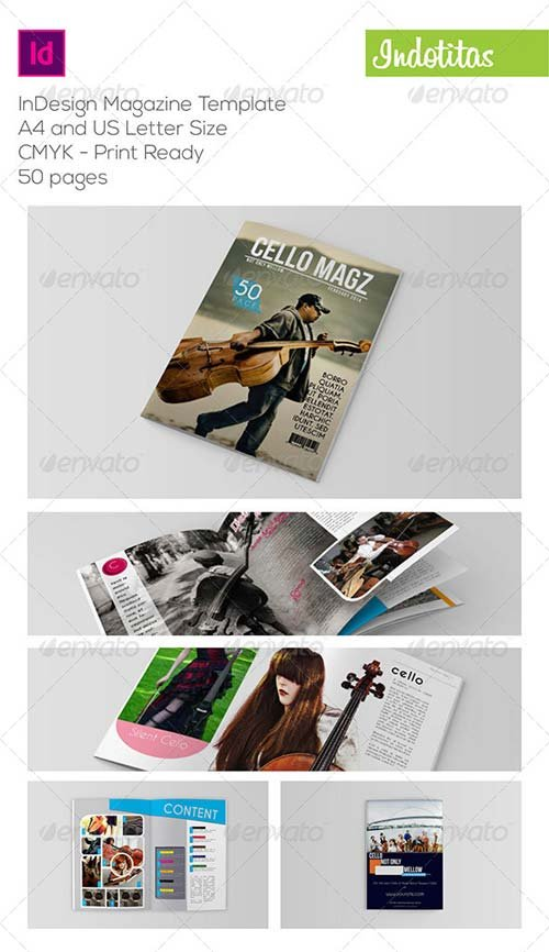 GraphicRiver InDesign Magazine Template 6898166