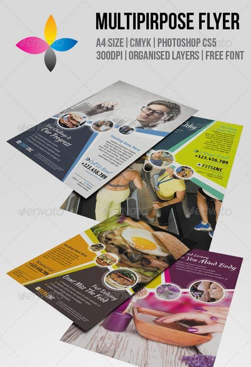 GraphicRiver Multipurpose Flyer 6897828