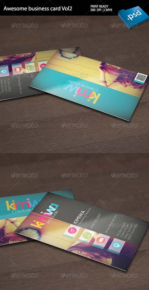 GraphicRiver Awesome business card Vol2