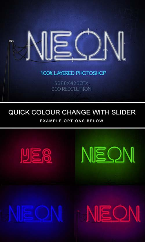 GraphicRiver Neon Text