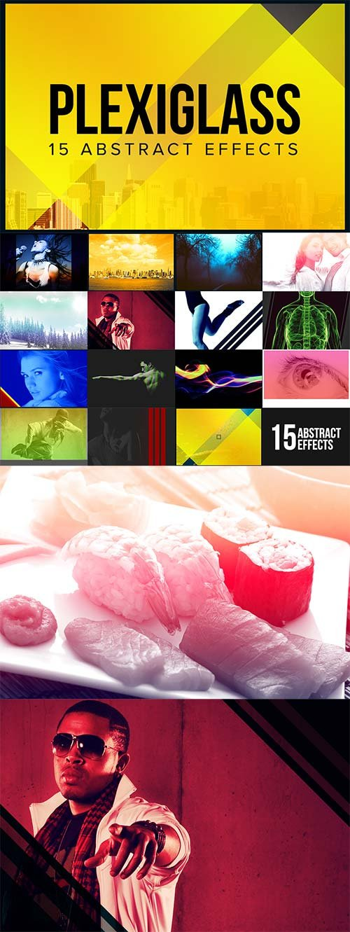 CreativeMarket Plexiglass - 15 Abstract Effects