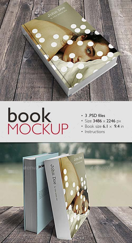 GraphicRiver Book Mockup