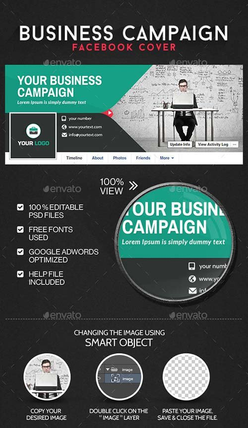 GraphicRiver Business Facebook Cover