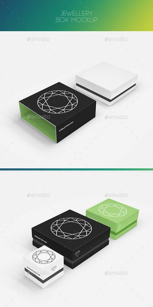 GraphicRiver Jewellery Box Mock-up