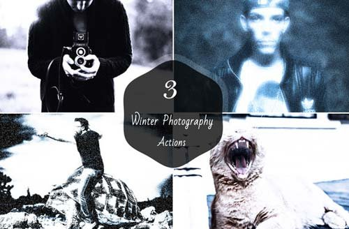 CreativeMarket Winter Photography Actions