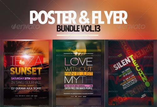 GraphicRiver Poster & Flyer Bundle Vol.13