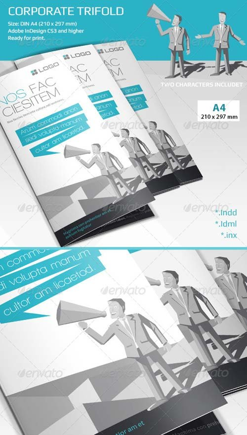 GraphicRiver Corporate Tri-fold Brochure 6808657