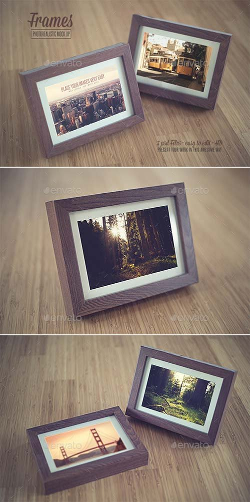 GraphicRiver Frame - Realistic Mock Up