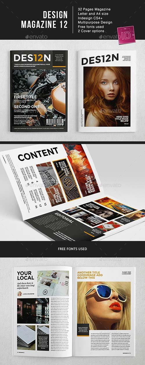 GraphicRiver Des12n MGZ