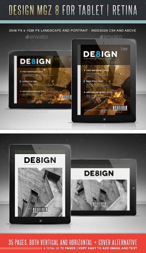GraphicRiver Design MGZ 8 Digital