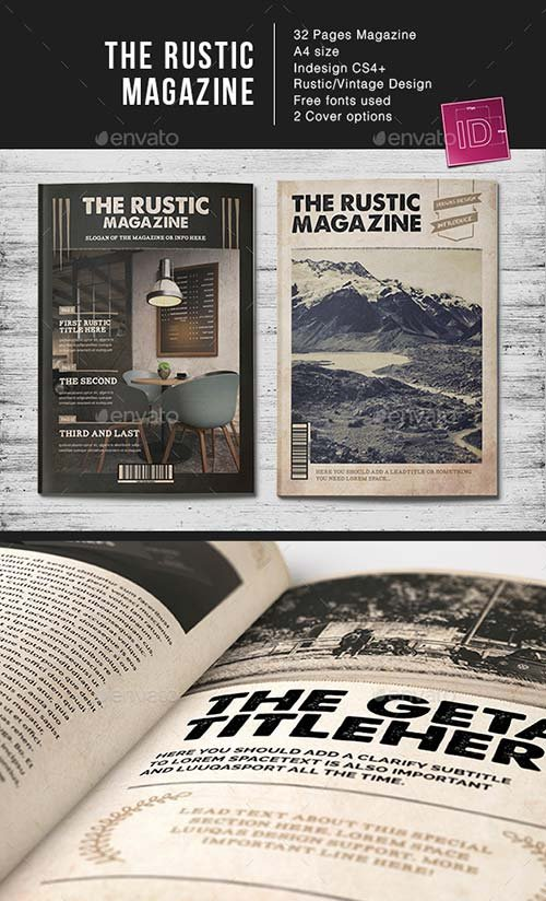 GraphicRiver The Rustic MGZ