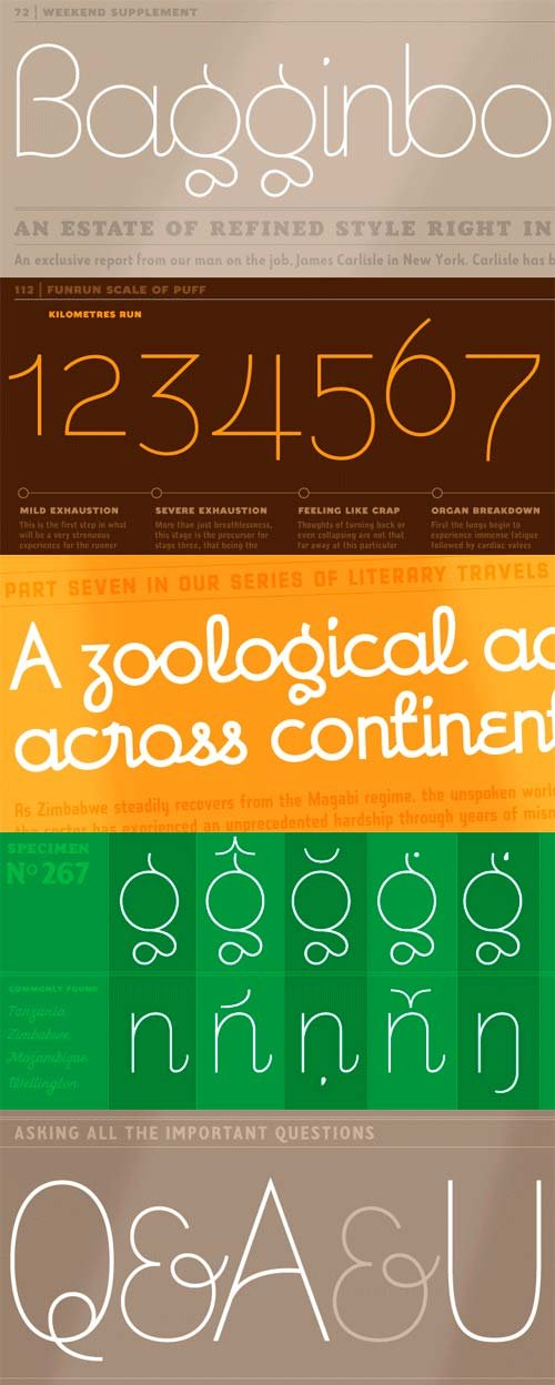 Bisque Font Family