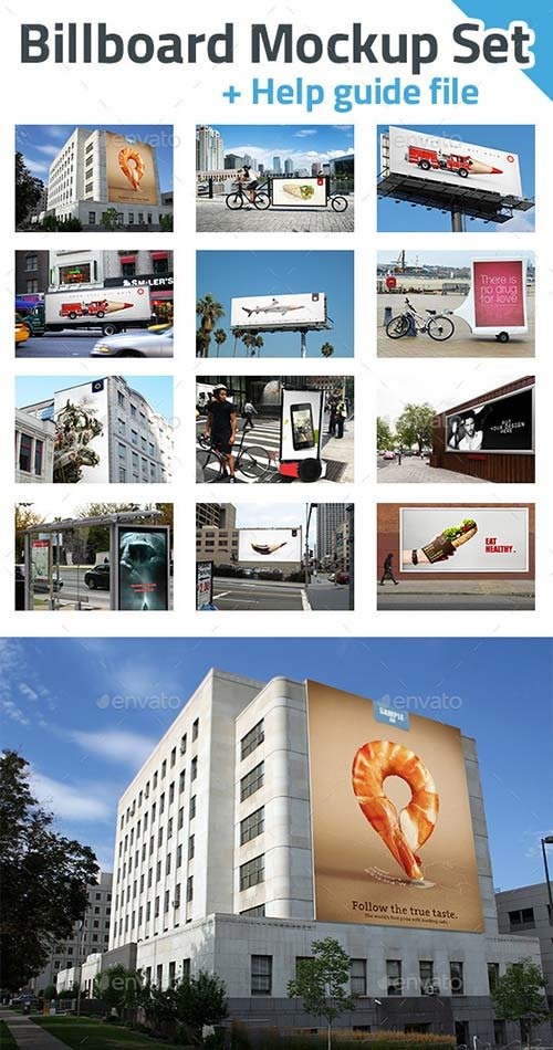 GraphicRiver Billboard Mockup Set