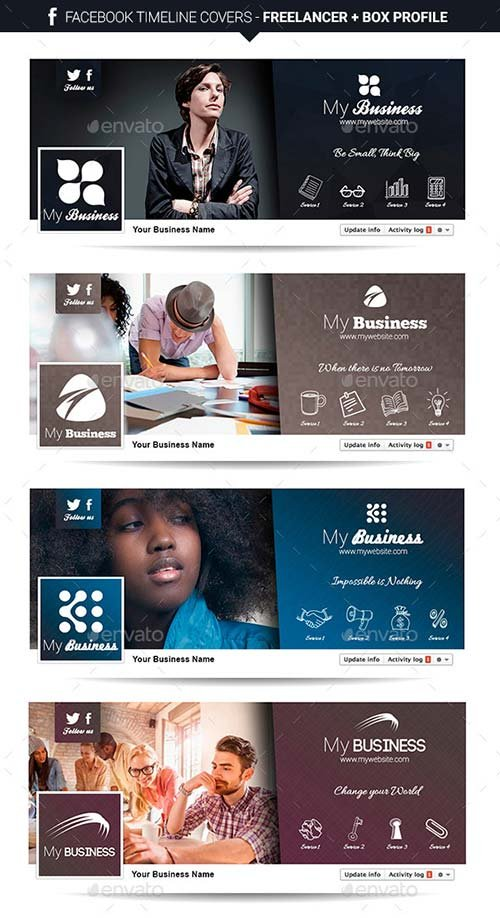 GraphicRiver Facebook Timeline Covers - Freelancer